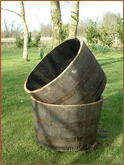 Buy Half Oak Barrels Tubs For The Garden Buy Whole